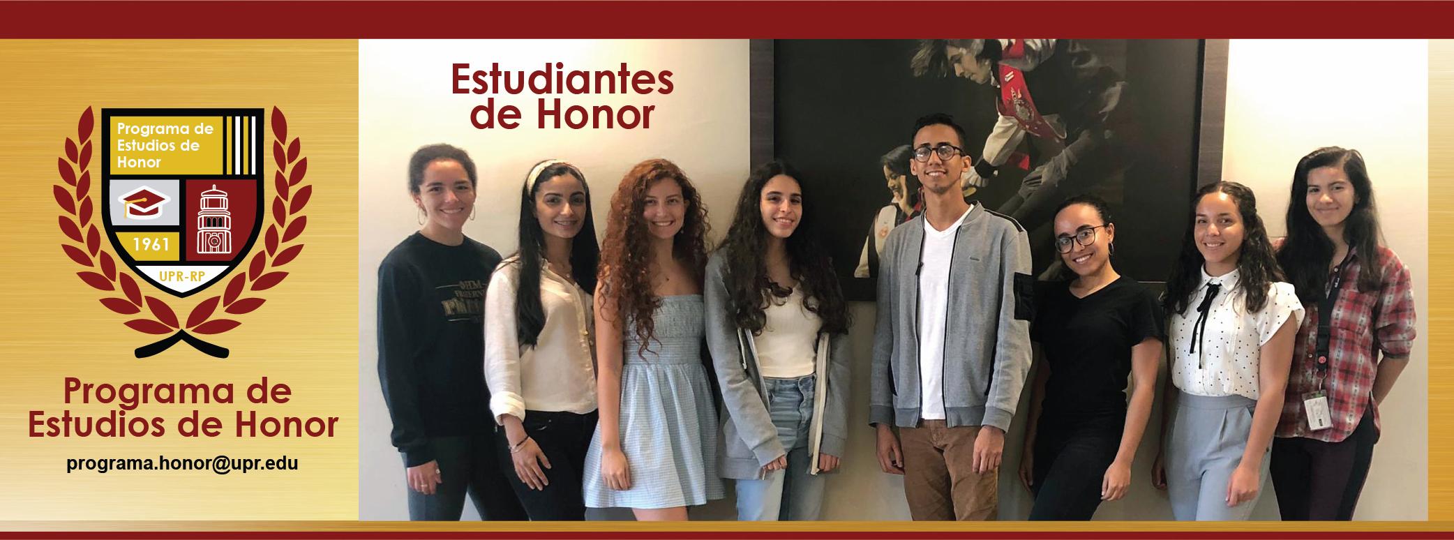 Estudiantes del programa banner